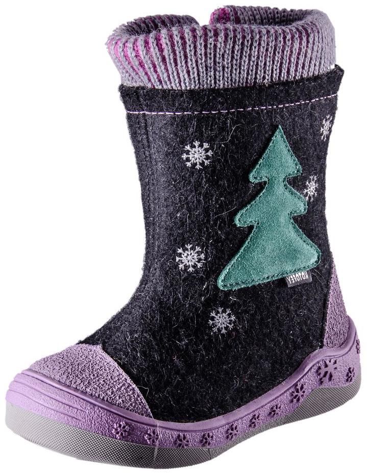 267019-42Материал верха плотный обувной войлок. Носочная часть защищена кожаным отрезным носком с покрытием для повышения износостойкости и защиты от химических реагентов. На голенище расположен манжет для придания комфорта при носке и плотного прилегания манжета к ножке. Подошва модели клеевая, двуцветная. Материал подкладки - шерстяной мех из натуральной овечьей шерсти отлично сохраняет тепло, отводит влагу от ноги, придает дополнительный комфорт. Фиксация на ножке достигается благодаря молнии позволяющей быстро раскрыть и обуть сапоги.