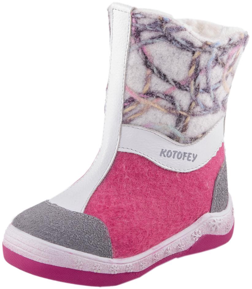 467005-47Валенки с подкладкой из шерстяного меха обладают наивысшими теплозащитными свойствами. Данный вид обуви производится из экологически чистой 100% натуральной овечьей шерсти. Обувь из шерсти дышит, обладает массажным воздействием, способствует улучшению циркуляции крови. Подошва валенок из термоэластопласта легкая и удобная, не дубеет на морозе. Пяточная и носочная части защищены натуральной кожей с полиуретановым покрытием. Удобная застежка-молния позволяет легко обувать и снимать валенки. Милая вышивка порадует вашего малыша. Наши валенки сочетают в себе удобство и уют традиционных русских валенок с современным дизайном!