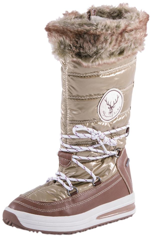 764912-41Сапожки с мембраной - идеальная обувь для поздней осени, а также для теплой и сырой погоды зимой. Мембрана не позволяет проникнуть влаге внутрь обуви, но при этом легко выводит испарения изнутри. В качестве материала верха используются высококачественные водоотталкивающие материалы. Наричие подкладки из шерстяного меха создает пополнительный комфорт и теплозащиту.