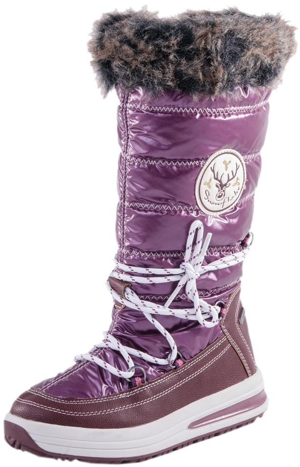 764912-42Сапожки с мембраной - идеальная обувь для поздней осени, а также для теплой и сырой погоды зимой. Мембрана не позволяет проникнуть влаге внутрь обуви, но при этом легко выводит испарения изнутри. В качестве материала верха используются высококачественные водоотталкивающие материалы. Наричие подкладки из шерстяного меха создает пополнительный комфорт и теплозащиту.