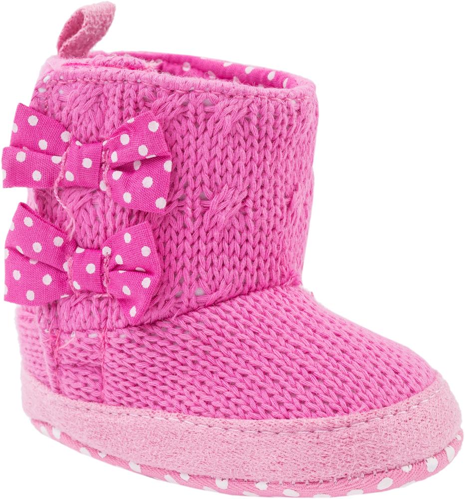 Пинетки001039-12Легкие, эластичные пинетки изготовлены из натуральных качественных текстильных материалов Пинетки легко надеваются и снимаются. Движения стопы в них остаются свободными. Необходимо помнить, что пинетки – это обувь для детей, которые еще не начали ходить!