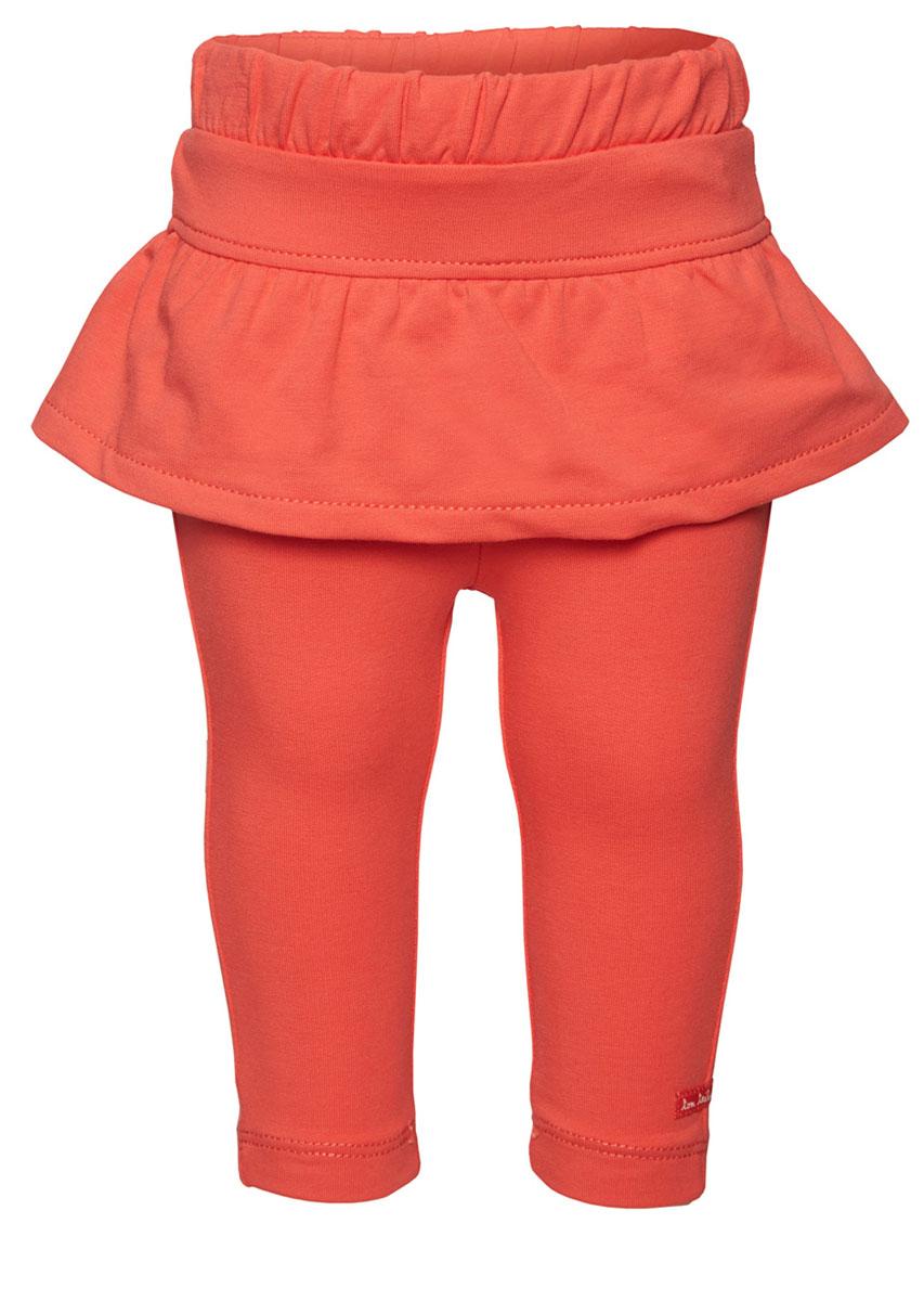 Леггинсы6828909.40.21_4481Комфортные леггинсы для девочки выполнены из высококачественного материала. Модель облегающего кроя с эластичным поясом дополнена декоративной юбочкой.