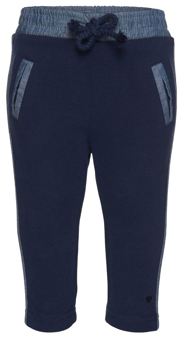 Брюки спортивные6828899.00.22_2482Детские спортивные брюки выполнены из высококачественного материала. Модель облегающего кроя дополнена эластичным поясом с кулиской и двумя боковыми карманами.