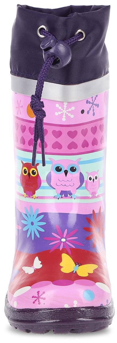 Сапоги резиновые для девочки. 200284