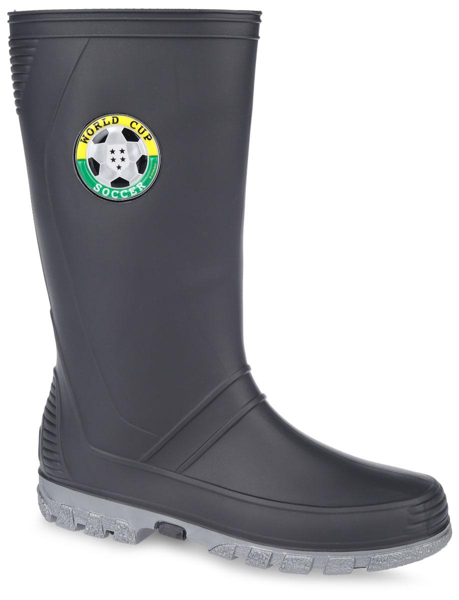 Резиновые сапоги для мальчика. 7248-1/7250-107248-1Стильные резиновые сапоги от фирмы Зебра - идеальная обувь для прогулки в ненастную погоду. Модель выполнена из качественного ПВХ и оформлена оригинальной аппликацией. Подкладка и стелька, выполненные из текстиля, обеспечат тепло и комфорт при носке. Рельефная подошва гарантирует отличное сцепление с любой поверхностью. Такие оригинальные и практичные резиновые сапоги займут достойное место в гардеробе вашего ребенка.