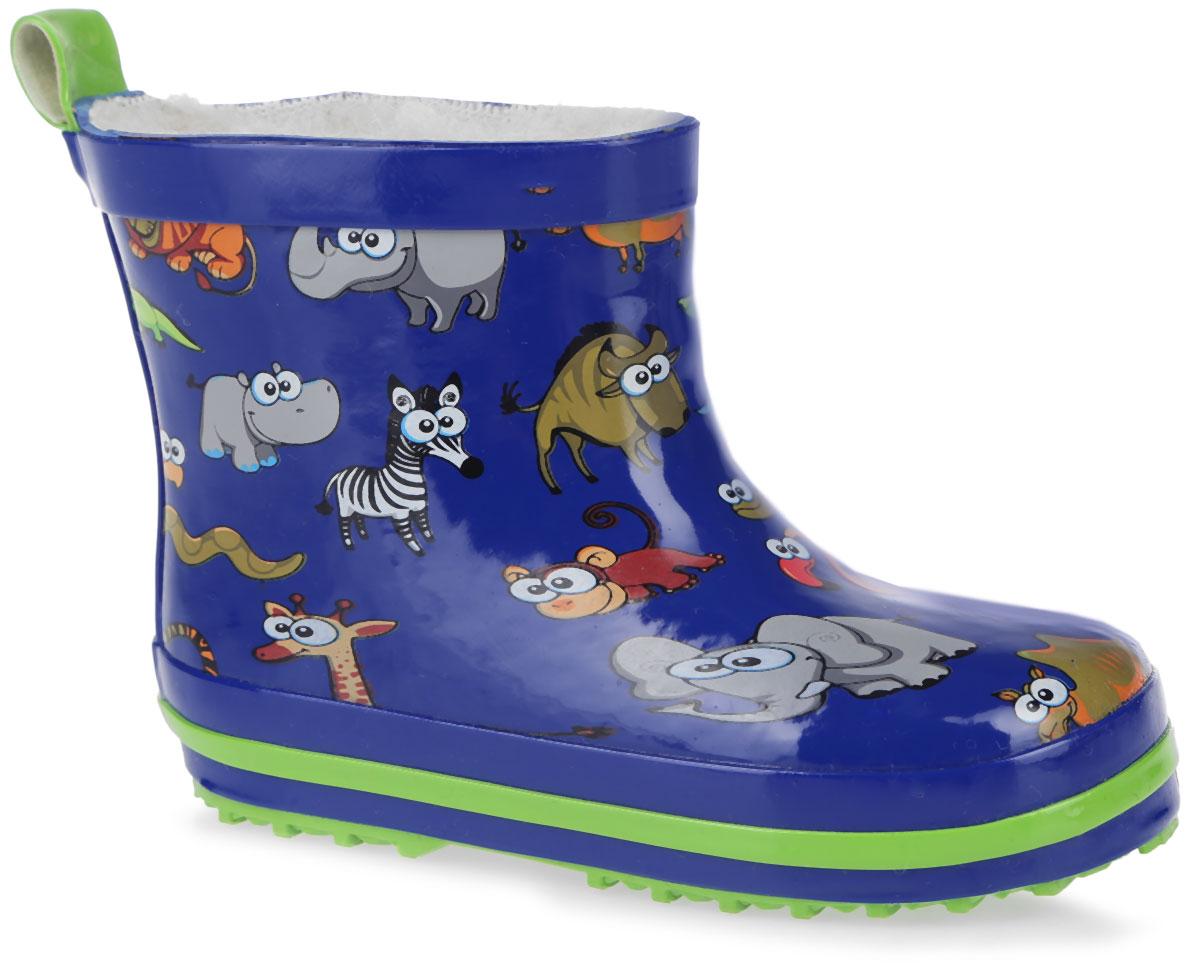200280Стильные резиновые сапоги от фирмы Mursu идеально подходят для долгих прогулок в ненастную погоду. Сапоги выполнены из качественной резины и оформлены принтом с изображением животных. Ярлычок на заднике облегчит надевание обуви. Подкладка и стелька изготовлены из шерсти, которая сохранит тепло и обеспечит полный уют и комфорт при носке. Рельефная резиновая подошва устойчива к истиранию и гарантирует отличное сцепление с любой поверхностью. Такие оригинальные и практичные резиновые сапоги займут достойное место в гардеробе вашего ребенка.