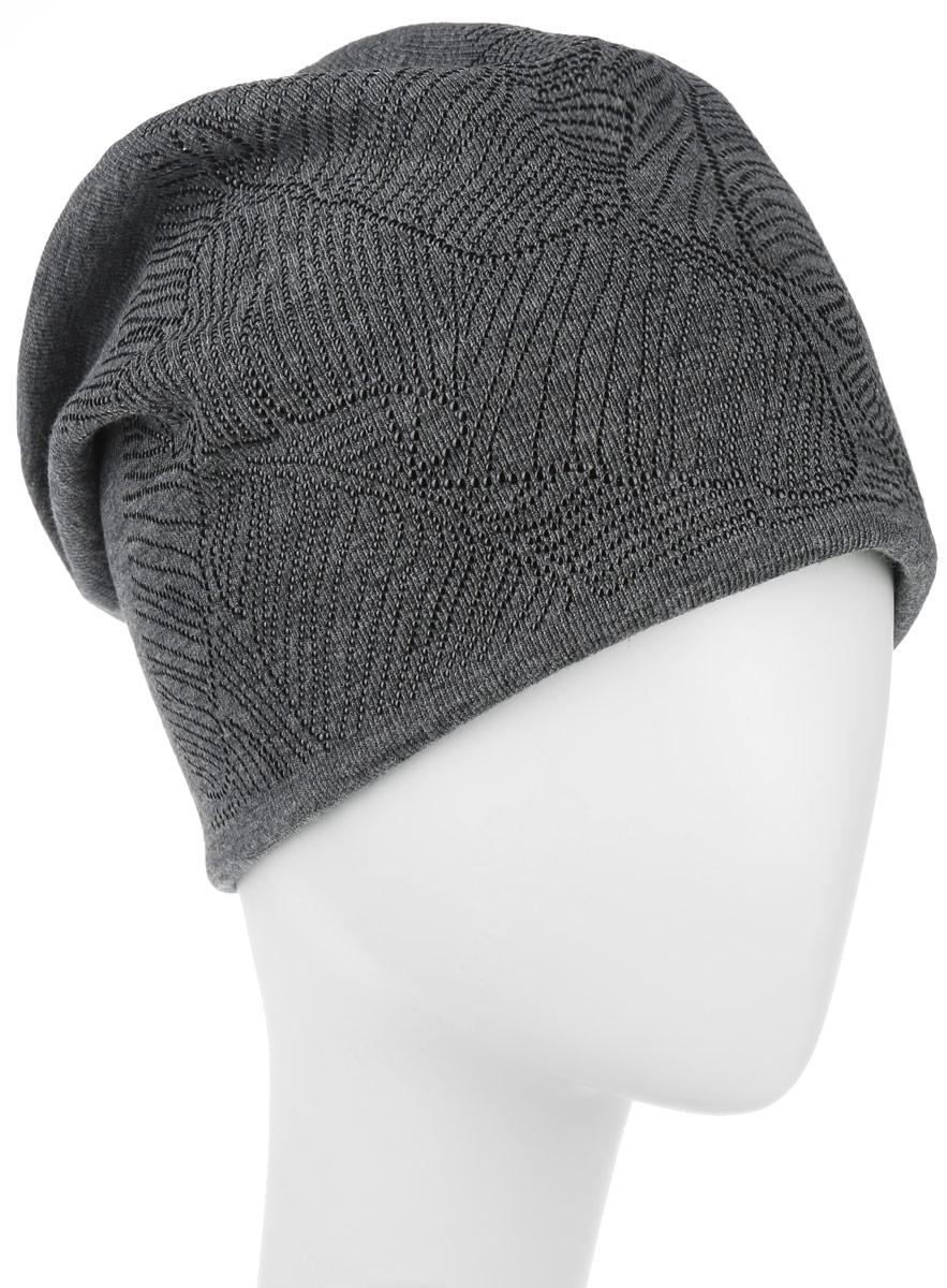 Шапка женская. 994366994366Стильная женская шапка Level Pro дополнит ваш наряд и не позволит вам замерзнуть в холодное время года. Шапка наполовину выполнена из шерсти с добавлением полиэстера, что позволяет ей великолепно сохранять тепло и обеспечивает высокую эластичность и удобство посадки. Сзади шапка присборена. Внутри - флисовая подкладка. Оформлена модель аппликацией из металлических страз и на макушке дополнена большой стразой. Такая шапка составит идеальный комплект с модной верхней одеждой.