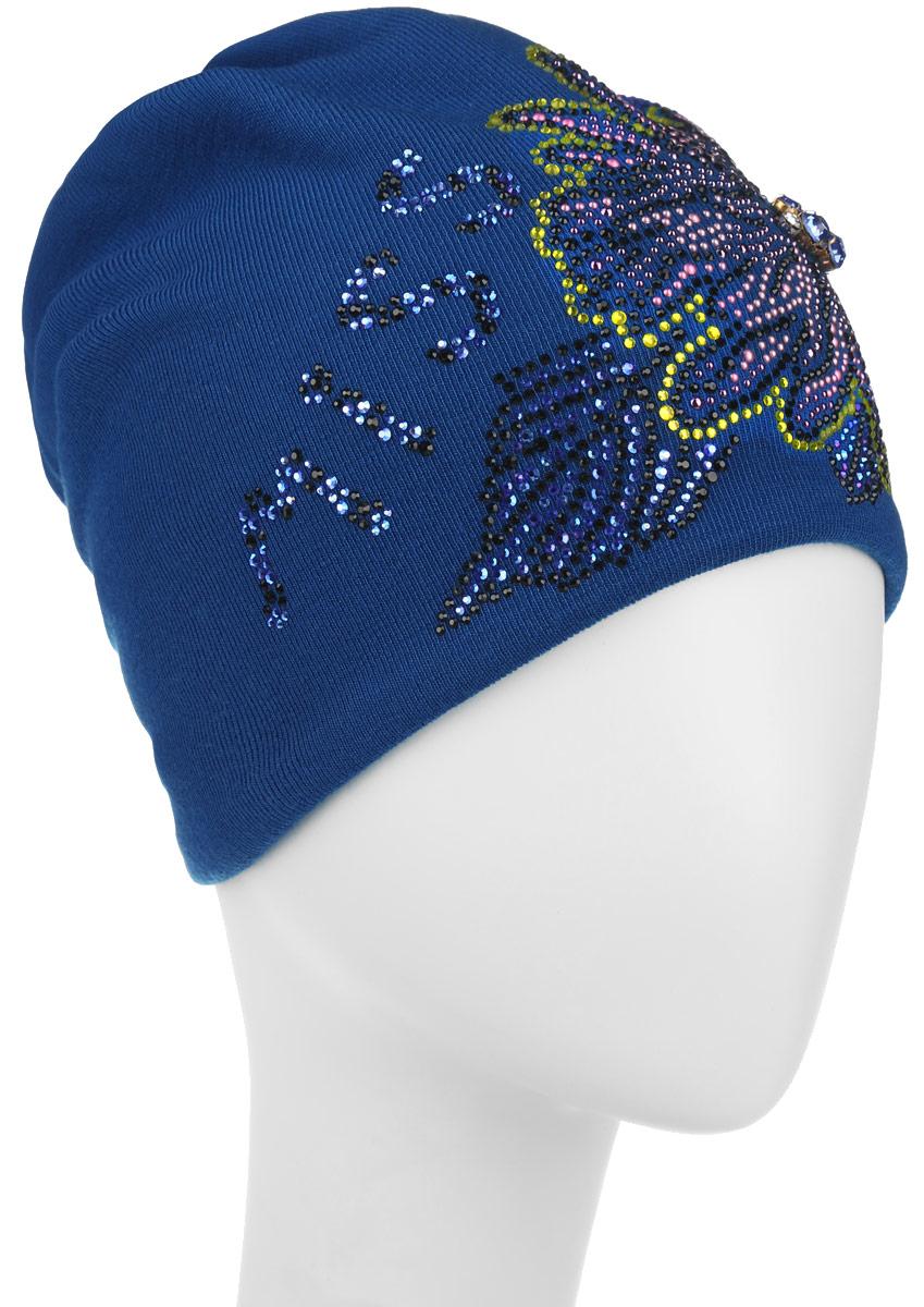 Шапка женская. 3907_miss390741Стильная женская шапка Level Pro дополнит ваш наряд и не позволит вам замерзнуть в холодное время года. Шапка наполовину выполнена из шерсти с добавлением полиэстера , что позволяет ей великолепно сохранять тепло и обеспечивает высокую эластичность и удобство посадки. Внутренняя сторона модели трикотажная. Изделие оформлено оригинальным цветком, выполненным из блестящих страз. Дополнен цветок выкладкой из крупных камней и надписью на шапке. Такая шапка составит идеальный комплект с модной верхней одеждой, в ней вам будет уютно и тепло.