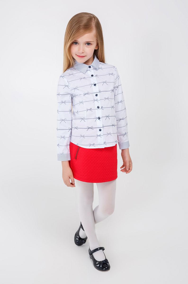 Блузка20220260009_200Стильная блузка для девочки Acoola Bohr выполнена из высококачественного материала. Модель прямого кроя с длинными рукавами и отложным воротником застегивается на пуговицы. Манжеты также застегиваются на пуговицы. Оформлена оригинальным принтом.