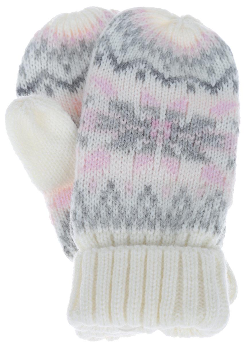 Варежки детскиеGL-643/055AF-6303Детские варежки Sela идеально подойдут вашему ребенку для прогулок, они согреют руки в прохладное время года. Изготовленные из мягкой пряжи смешанного состава они обладают хорошими дышащими свойствами и хорошо удерживают тепло. Варежки дополнены широкими трикотажными манжетами, не стягивающими запястья и надежно фиксирующими варежки на руках ребенка. В таких варежках ваш ребенок будет чувствовать себя уютно и комфортно и всегда будет в центре внимания!