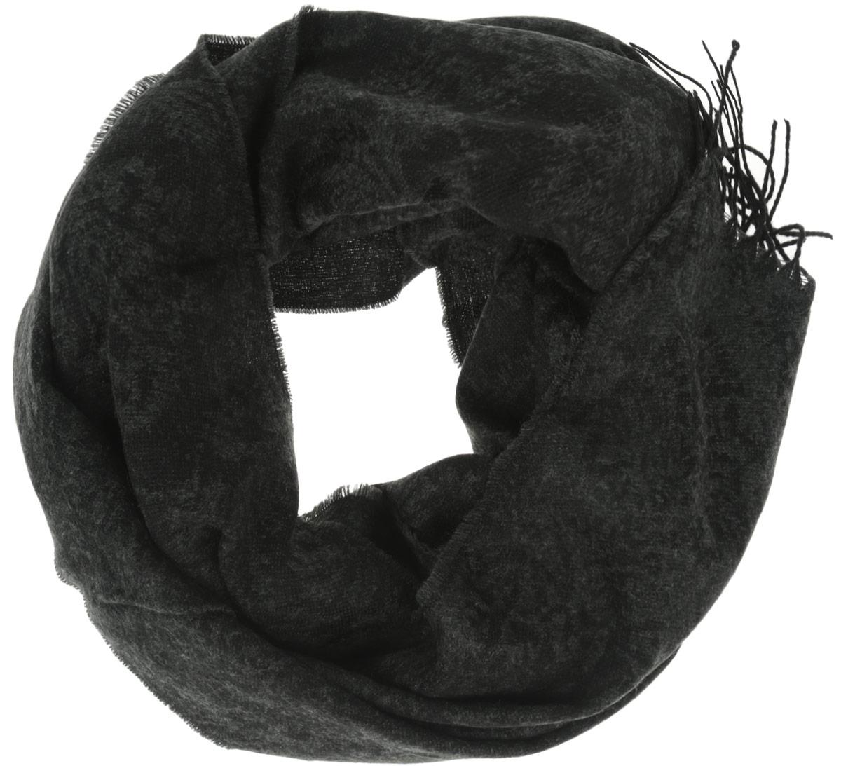 ШарфSCw-242/462-6303Элегантный мужской шарф Sela согреет вас в холодное время года, а также станет изысканным аксессуаром, который призван подчеркнуть ваш стиль и индивидуальность. Оригинальный теплый шарф выполнен из высококачественного акрила. Широкий шарф украшен бахромой в виде жгутиков по краю. Такой шарф станет превосходным дополнением к любому наряду, защитит вас от ветра и холода и позволит вам создать свой неповторимый стиль.