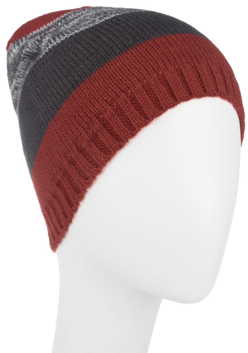 Шапка детскаяHAk-741/156AM-6302Детская шапка Sela идеально подойдет для прогулок в прохладное время года. Шапочка выполненная из 100% акрила не раздражает даже самую нежную и чувствительную кожу ребенка, обеспечивая ему наибольший комфорт. Внутри - флисовая подкладка. Шапка оформлена оригинальным принтом. Она хорошо облегает голову ребенка, надежно защищая уши и лоб от продуваний. Современный дизайн и яркая расцветка делают эту шапку модным и стильным предметом детского гардероба. В ней ваш ребенок будет чувствовать себя уютно, комфортно и всегда будет в центре внимания! Уважаемые клиенты! Размер, доступный для заказа, является обхватом головы ребенка.