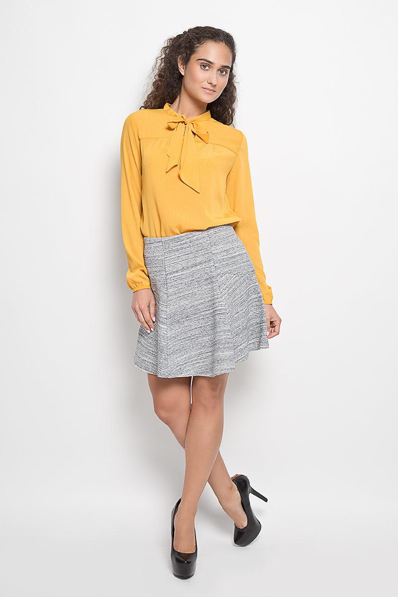 SKk-318/833-6322Эффектная юбка Sela выполнена из эластичного хлопка с добавлением полиэстера, она обеспечит вам комфорт и удобство при носке. Элегантная юбка средней длины имеет широкую эластичную резинку на талии. Модная юбка-миди выгодно освежит и разнообразит ваш гардероб. Создайте женственный образ и подчеркните свою яркую индивидуальность! Классический фасон и оригинальное оформление этой юбки сделают ваш образ непревзойденным.