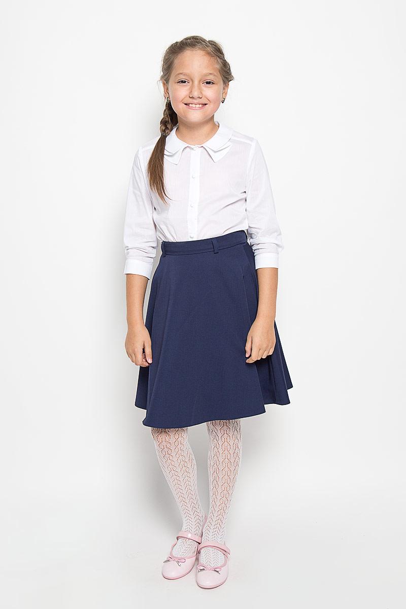 CWR26011B/CWR26011AОчаровательная блуза Nota Bene идеально подойдет вашей дочурке. Изготовленная из хлопка и полиэстера с добавлением лайкры, она приятная на ощупь, не сковывает движения ребенка и позволяет коже дышать, не раздражает даже самую нежную и чувствительную кожу ребенка, обеспечивая наибольший комфорт. Блузка с рукавами 3/4 и отложным воротником оригинального кроя застегивается на пластиковые пуговицы по всей длине. На манжетах предусмотрены застежки-пуговицы. Такая блузка послужит замечательным дополнением к гардеробу вашей дочурки. В ней ваша девочка будет чувствовать себя уютно и комфортно, и всегда будет в центре внимания!