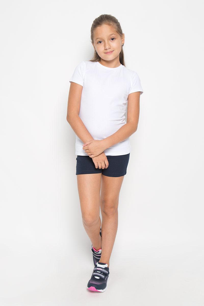 ШортыSHk-615/124-6362Модные шорты для девочки Sela станут дополнением к гардеробу юной модницы. Изделие, выполненное из хлопка с добавлением эластана, не сковывает движения и позволяет коже дышать, обеспечивая наибольший комфорт. Модель на талии имеет широкую трикотажную резинку. Изделие выполнено в лаконичном стиле. В таких шортах ваша принцесса будет чувствовать себя уютно и комфортно.