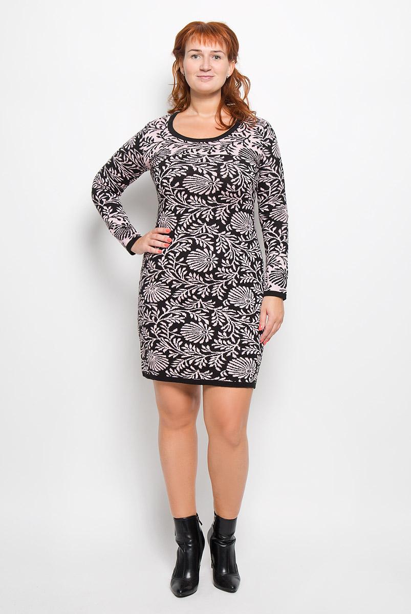 Платье1348Элегантное платье Milana Style выполнено из высококачественной комбинированной пряжи. Такое платье обеспечит вам комфорт и удобство при носке и непременно вызовет восхищение у окружающих. Благодаря содержанию ПАН, платье обладает высокой износостойкостью и отлично сидит по фигуре. Платье-миди с длинными рукавами и круглым вырезом горловины выгодно подчеркнет все достоинства вашей фигуры. Платье оформлено оригинальным цветочным принтом. Изысканное платье-миди создаст обворожительный и неповторимый образ. Это модное и комфортное платье станет превосходным дополнением к вашему гардеробу, оно подарит вам удобство и поможет подчеркнуть ваш вкус и неповторимый стиль.