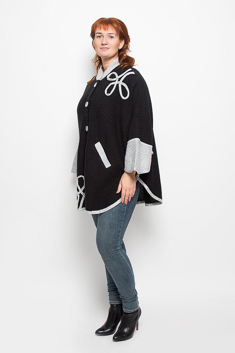 Milana Style Пончо женское. 506