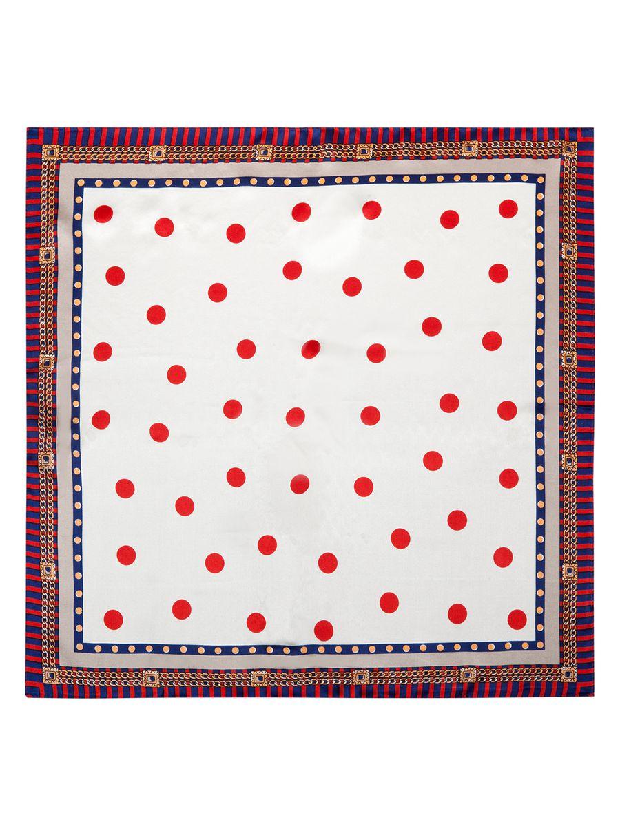 ПлатокSS03-7861Женский платок Eleganzza, изготовленный из шелка, мягкий и приятный на ощупь. Изделие оформлено оригинальным принтом.