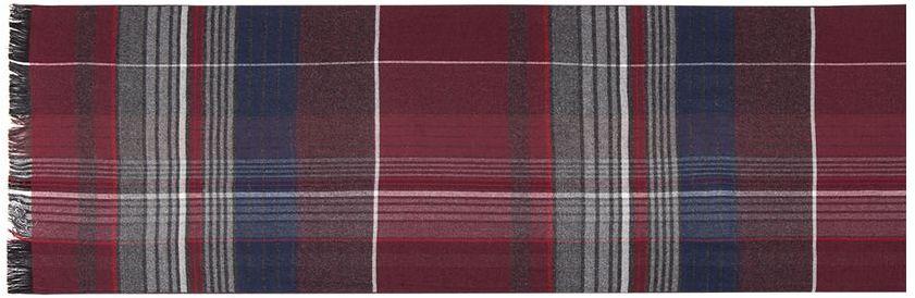 ШарфLJG33-371Элегантный мужской шарф Labbra согреет вас в холодное время года, а также станет изысканным аксессуаром, который призван подчеркнуть ваш стиль и индивидуальность. Оригинальный и стильный шарф выполнен из сочетания высококачественных материалов шерсти и вискозы, оформлен узкими контрастными полосками и украшен жгутиками бахромой по краям.