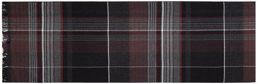 Шарф муж. LJG33-371LJG33-371Шарф торговой марки LABBRA. Состав: 50% шерсть + 50% вискоза. Тип подгибки: оверлок, реснички по короткой стороне. Размер: 30х180 см.