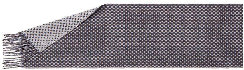 ШарфLJG33-374Мужской шарф Labbra, изготовленный из вискозы и шерсти, мягкий и приятный на ощупь. Изделие оформлено оригинальным принтом. По короткому краю модель оформлена бахромой.