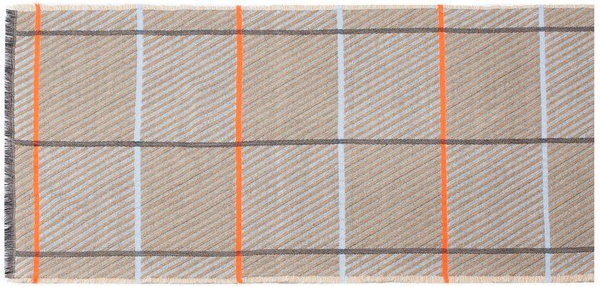 ПалантинLG41-573Теплый палантин Labbra, изготовленный из шерсти, мягкий и приятный на ощупь. Изделие оформлено оригинальным принтом в полоску. По всем краям модель оформлена бахромой.