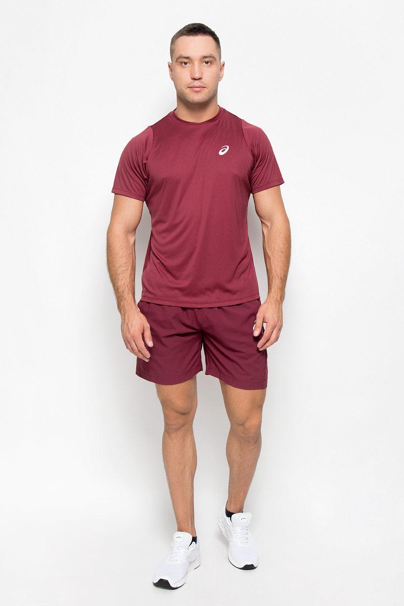 130238-8052Мужские шорты для тенниса Asics Club Woven Short 7in - это незаменимый атрибут в гардеробе любого спортсмена. Стильные удобные шорты выполнены из высококачественного полиэстера, благодаря чему превосходно сидят, не стесняют движений и великолепно отводят влагу, оставляя тело сухим даже во время интенсивных тренировок. Сетчатая вставка сзади позволяет шортам обеспечивать необходимую циркуляцию воздуха. Модель дополнена широкой эластичной резинкой на талии. Объем пояса регулируется при помощи шнурка-кулиски. Шорты имеют два втачных кармана спереди. Устремляясь за очередным укороченным ударом и высоким мячом, используйте всю силу ног, а легкие шорты помогут вам в этом: они подарят комфорт и полную свободу движений. Эти модные шорты послужат отличным дополнением к вашему спортивному гардеробу. В них вы всегда будете чувствовать себя уверенно и комфортно.
