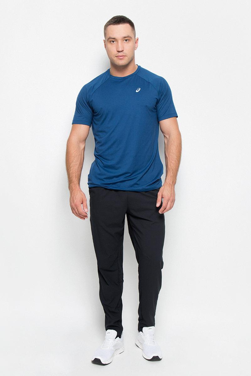 Футболка134771-0672Стильная мужская футболка для фитнеса Asics Essential Training Top, выполненная из эластичного полиэстера, обладает высокой теплопроводностью, воздухопроницаемостью и гигроскопичностью и великолепно отводит влагу, оставляя тело сухим даже во время интенсивных тренировок. Такая футболка превосходно подойдет для занятий спортом и активного отдыха. Модель с короткими рукавами-реглан и круглым вырезом горловины - идеальный вариант для занятий спортом. Рукава-реглан обеспечат свободу движений. Футболка оформлена светоотражающим логотипом спереди. Такая модель подарит вам комфорт в течение всего дня и послужит замечательным дополнением к вашему гардеробу.
