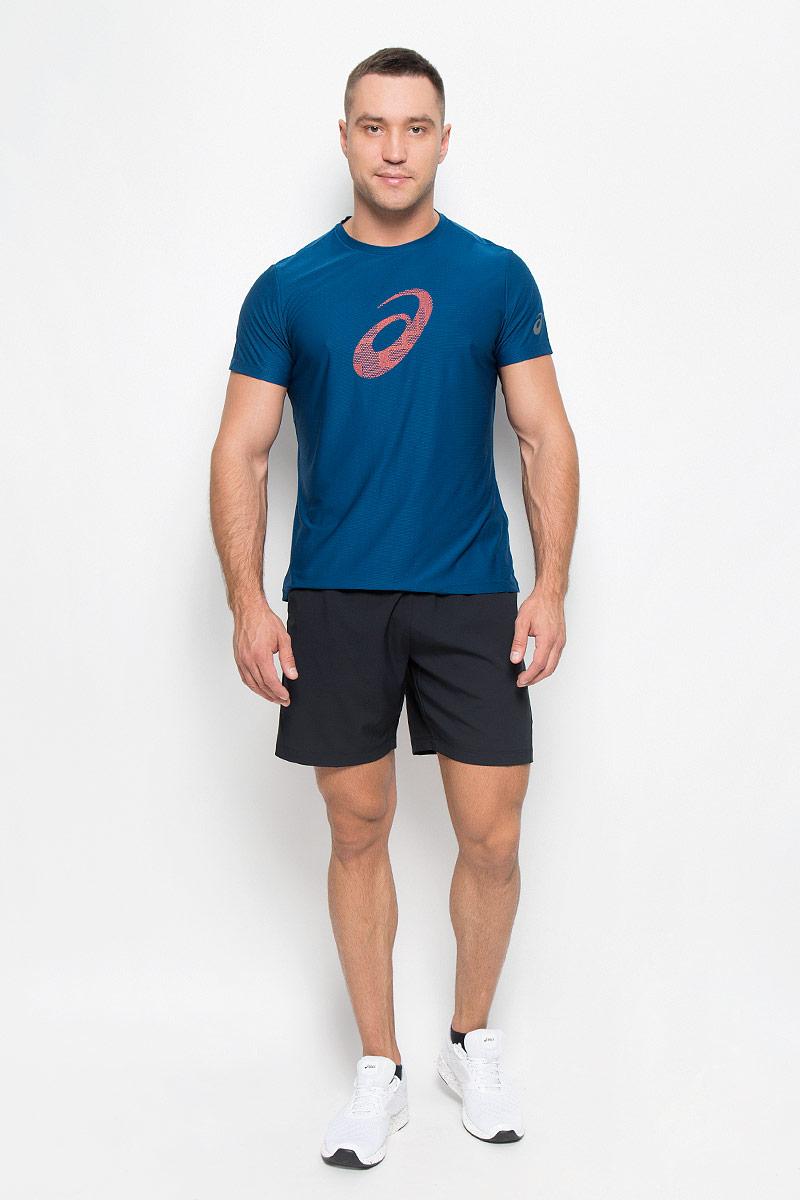 Шорты130238-8052Мужские шорты для тенниса Asics Club Woven Short 7in - это незаменимый атрибут в гардеробе любого спортсмена. Стильные удобные шорты выполнены из высококачественного полиэстера, благодаря чему превосходно сидят, не стесняют движений и великолепно отводят влагу, оставляя тело сухим даже во время интенсивных тренировок. Сетчатая вставка сзади позволяет шортам обеспечивать необходимую циркуляцию воздуха. Модель дополнена широкой эластичной резинкой на талии. Объем пояса регулируется при помощи шнурка-кулиски. Шорты имеют два втачных кармана спереди. Устремляясь за очередным укороченным ударом и высоким мячом, используйте всю силу ног, а легкие шорты помогут вам в этом: они подарят комфорт и полную свободу движений. Эти модные шорты послужат отличным дополнением к вашему спортивному гардеробу. В них вы всегда будете чувствовать себя уверенно и комфортно.