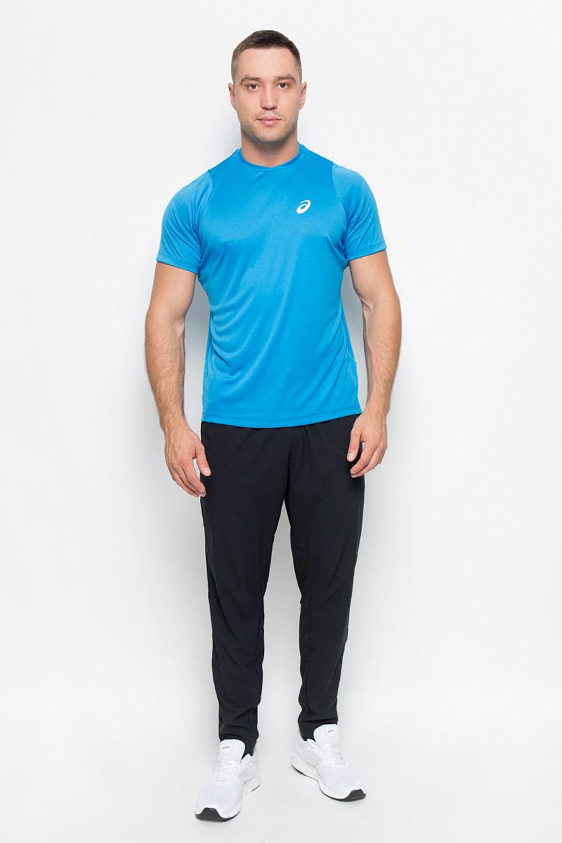 Футболка130234-8094Стильная мужская футболка для тенниса Asics Club SS Top, выполненная из эластичного полиэстера, обладает высокой теплопроводностью, воздухопроницаемостью и гигроскопичностью и великолепно отводит влагу, оставляя тело сухим даже во время интенсивных тренировок. Такая футболка превосходно подойдет для занятий спортом и активного отдыха. Модель с короткими рукавами реглан и круглым вырезом горловины - идеальный вариант для занятий спортом. Рукава реглан обеспечат свободу движений, а специальная сетчатая вставка на спинке - необходимую циркуляцию воздуха. Футболка дополнена светоотражающим логотипом бренда. Такая модель подарит вам комфорт в течение всего дня и послужит замечательным дополнением к вашему гардеробу.
