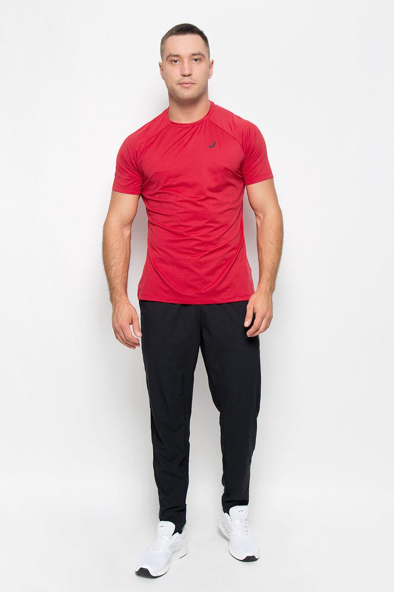 134771-0672Стильная мужская футболка для фитнеса Asics Essential Training Top, выполненная из эластичного полиэстера, обладает высокой теплопроводностью, воздухопроницаемостью и гигроскопичностью и великолепно отводит влагу, оставляя тело сухим даже во время интенсивных тренировок. Такая футболка превосходно подойдет для занятий спортом и активного отдыха. Модель с короткими рукавами-реглан и круглым вырезом горловины - идеальный вариант для занятий спортом. Рукава-реглан обеспечат свободу движений. Футболка оформлена светоотражающим логотипом спереди. Такая модель подарит вам комфорт в течение всего дня и послужит замечательным дополнением к вашему гардеробу.