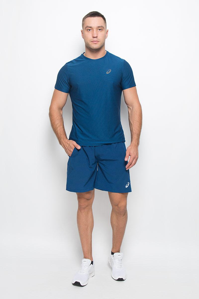 Шорты125136-0871Мужские шорты Asics Woven 7in станут отличным дополнением к вашему спортивному гардеробу. Они выполнены из полиэстера с применением технологии Motion Dry, удобно сидят и превосходно отводят влагу от тела, оставляя кожу сухой. Модель дополнена широкой эластичной резинкой на поясе, двумя боковыми карманами и небольшим внутренним кармашком. Объем талии регулируется при помощи шнурка-кулиски на поясе. Шорты украшены логотипом Asics. Мягкие легкие шорты помогут улучшить спортивные результаты. Идеальны для тренировок, пробежек и прогулок.