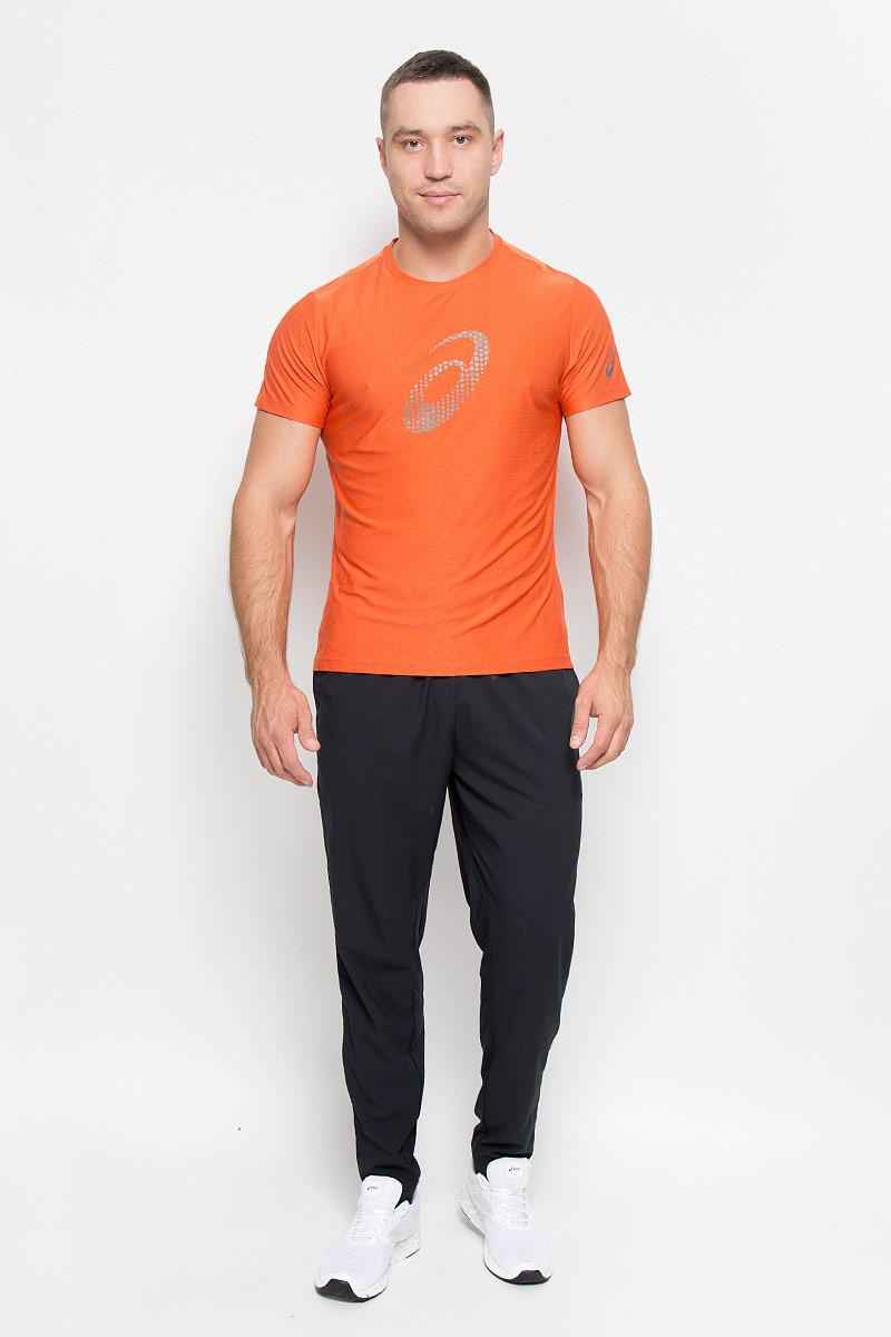 134085-0779Стильная мужская футболка для бега Asics Graphic SS Top, выполненная из высококачественного полиэстера с применением технологии Motion Dry, обладает высокой воздухопроницаемостью, а также превосходно отводит влагу от тела, оставляя кожу сухой даже во время интенсивных тренировок. Такая футболка великолепно подойдет как для повседневной носки, так и для спортивных занятий. Комфортные плоские швы исключают риск натирания и раздражения. Модель с короткими рукавами и круглым вырезом горловины - идеальный вариант для создания модного спортивного образа. Футболка оформлена крупным логотипом бренда на груди. Такая футболка идеально подойдет для занятий спортом, бега и фитнеса. В ней вы всегда будете чувствовать себя уверенно и комфортно.