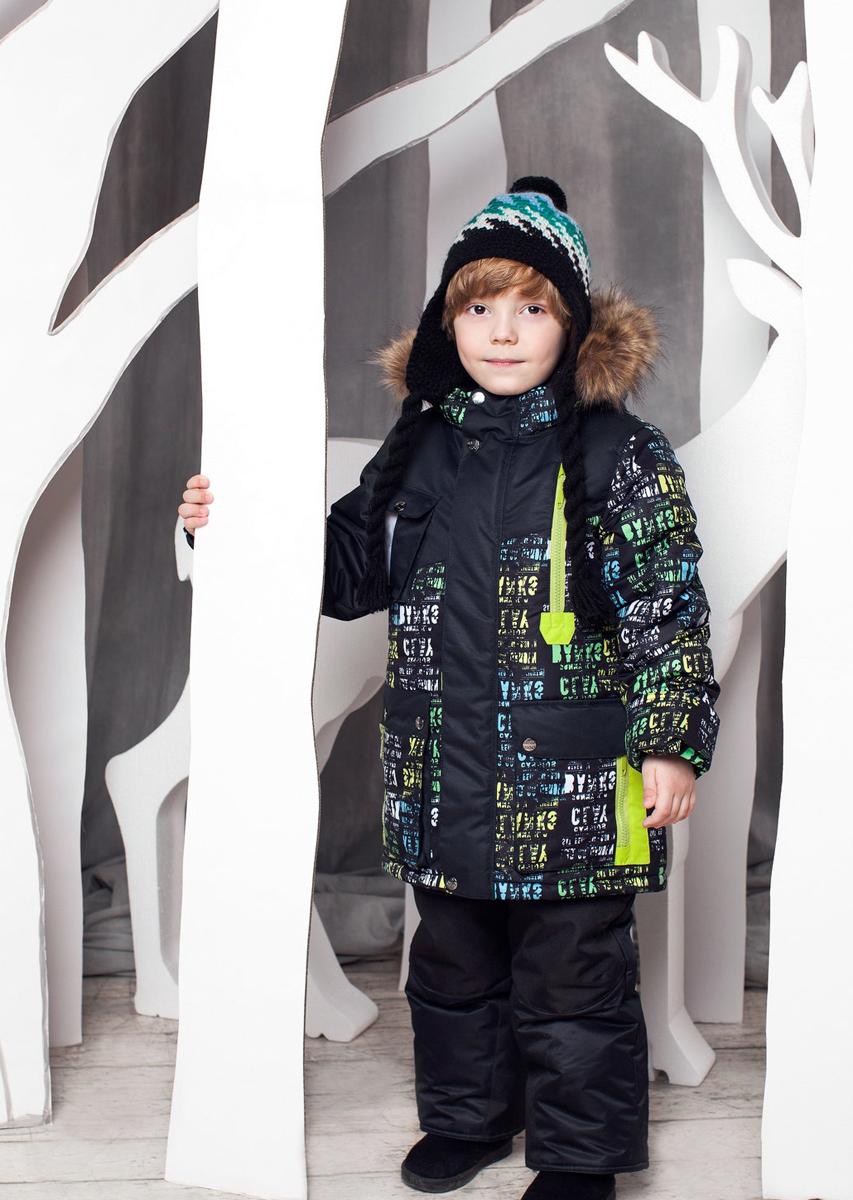 Комплект одежды для мальчика Ян. 1КС16141КС1614Супер теплый и практичный зимний костюм от OLDOS. Покрытие Teflon защищает от воды и грязи, увеличивает износостойкость и упрощает уход за изделием. Утеплитель Hollofan 250/200 г/м2 гипоаллергенен, отлично удерживает тепло. Подкладка: хлопок (грудка и спинка), гладкий полиэстер в рукавах и брючинах для легкости одевания. Съемная подстежка на молнии из 60% овечьей шерсти. Температура -35...0 С. Куртка имеет весь необходимый функционал для комфортной носки: ветрозащитные планки, саморегулирующиеся трикотажные манжеты внутри рукавов, регулируемую утяжку по низу куртки, карманы, воротник-стойку с приятной к лицу трикотажной вставкой, съемный капюшон с регулируемым объемом и съемной опушкой из искусственного меха. Полукомбинезон также очень функционален: широкие эластичные регулируемые лямки, застежка-молния, вшита резинка по линии талии, есть снего-ветрозащитные муфты, усиления на коленях и внизу брючин, так же есть карманы. Костюм оснащен светоотражающими элементами.