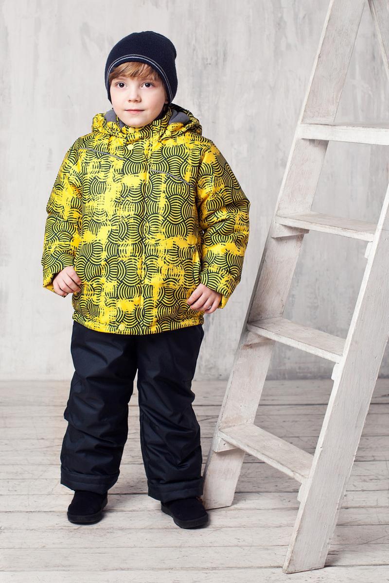 Комплект одежды для мальчика Клим. 1КС16191КС1619Высокопрочный костюм из зимней коллекции JICCO by OLDOS оснащен всем самым необходимым для комфортной носки. Пропитка Teflon защитит от грязи и воды, увеличивает износостойкость и облегчает уход. Мембрана 2000/2000 делает костюм дышащим и обеспечивает водонепроницаемость. Гипоаллергенный утеплитель HOLLOFAN 300/150 г - эффективно удерживает тепло, не впитывает влагу и запах. Флисовая подкладка в области груди, спины и воротника, в рукавах и полукомбинезоне гладкий полиэстер для легкости одевания. Костюм может расти вместе с ребенком за счет отворотов. По краю капюшона и низу куртки вшита резинка, обеспечивающая лучшее прилегание. Противоснежные муфты, трикотажные манжеты, ветрозащитные планки и воротник-стойка прекрасно защитят от снега и ветра. Полукомбинезон хорошо закрывает грудку и спинку ребенка, а широкие эластичные лямки легко регулируются по высоте. Карманы в куртке на молнии, в полукомбинезоне карманов нет. Есть светоотражающие элементы. Температура -30 С...+0 С.