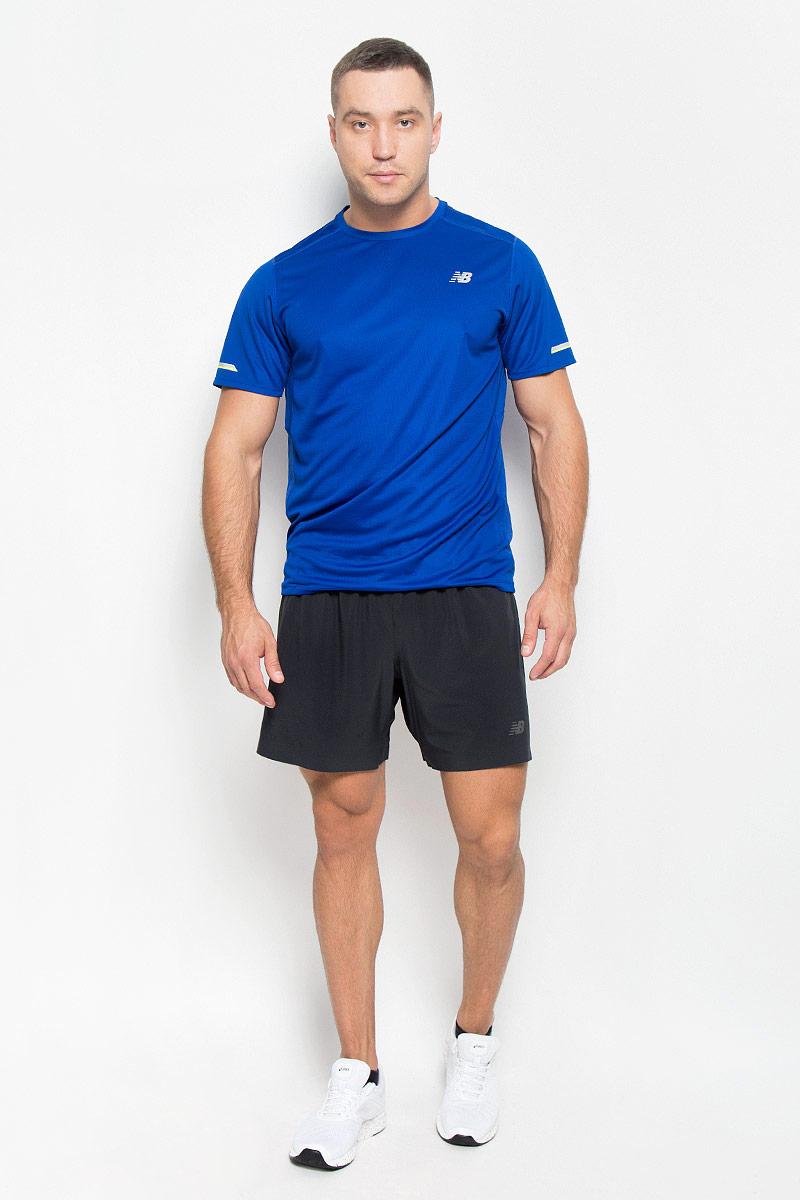 ШортыMS53053/BKЭти универсальные шорты New Balance вобрали в себя все последние технологии: они дарят неограниченную свободу движений и легкую мышечную поддержку. Они выполнены из 100% полиэстера, удобно сидят и превосходно отводят влагу от тела, оставляя кожу сухой. Модель оснащена широкой эластичной резинкой на поясе. Шорты сбоку дополнены кармашком на застежке-молнии и перфорацией для лучшей воздухопроницаемости. На передней части предусмотрен светоотражающий логотип . Эти стильные шорты идеально подойдут для фитнеса и других спортивных упражнений. В них вы всегда будете чувствовать себя уверенно и комфортно.