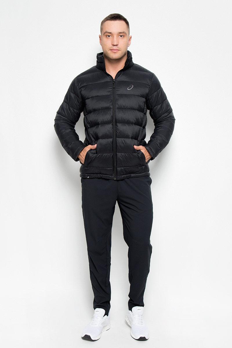 Куртка134797-0904Куртка мужская Padded Jacket подарит вам тепло, комфортно и удобно при носке. Сохранение тепла обеспечивается за счет наполнителя качественных материалов. Куртка с воротником-стойкой застегивается на застежку-молнию. По бокам модель дополнена двумя втачными карманами на застежках-молниях. На внутренней стороне размещается два вместительных накладных кармана. Понизу модель регулируется кулиской со стопперами. Модель декорирована на груди вышитым логотипом с названием бренда. Такая куртка обеспечит вам не только красивый внешний вид и комфорт, но и дополнительную защиту от холода и ветра.