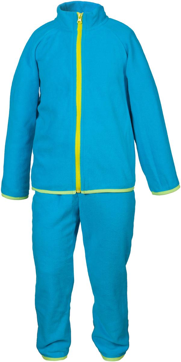 Комплект одежды для мальчика Кими. 4КС16114КС1611Удивительно мягкий и теплый костюм из флиса от OLDOS ACTIVE. Костюм состоит из гладкокрашенных кофты на молнии и брюк. Воротник-стоечка хорошо прилегает и закрывает шею ребенка от ветра. Изнутри шов воротника укреплен х/б лентой, что предотвращает растягивание. В пояс брюк вшита резинка, а так же есть возможность отрегулировать посадку по талии с помощью внутреннего шнурка. Низ рукавов, кофты и брючин окантованы резинкой. В таком костюме будет легко и тепло как на улице прохладным летом, так и дома!