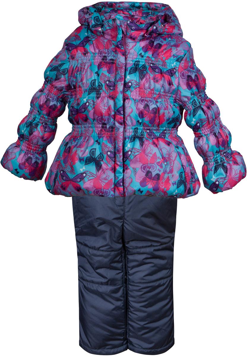 Комплект одежды для девочки Лена. 2КС15162КС1516Практичный демисезонный костюм от OLDOS, состоящий из куртки и брюк. Водо- и ветронепроницаемый благодаря специальным пропиткам. Утеплитель плотностью 150 г/м2 позволяет носить костюм в температурном диапазоне от -5 С до +10 С. Подкладка хлопковая в области грудки и спинки, а в рукавах и брючинах - гладкий полиэстер для легкости одевания. Куртка прекрасно защитит от капризов погоды благодаря ветрозащитным планкам по всей длине молнии, воротнику-стойке, съемному каюшону с регулировкой объема, трикотажным манжетам с саморегулирующейся муфтой. Есть кармашки для разной мелочи. Брюки также очень удобны и функциональны: широкие эластичные подтяжки регулируются по длине и легко отстегиваются при необходимости, есть дополнительная внутренняя утяжка по талии, ветрозащитные муфты с антискользящей резинкой будут крепко держаться во время прогулок. Так же в брюках есть карманы. Костюм оснащен светоотражающими элементами для безопасности в темное время суток.