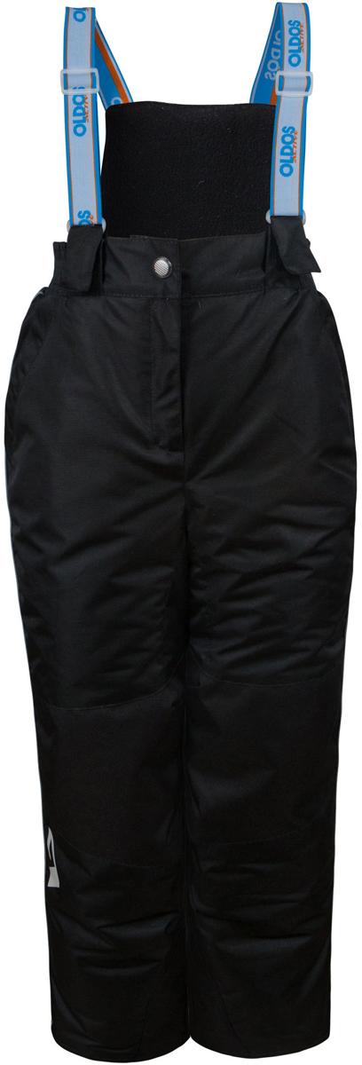 16/OA-1PT442Брюки для девочки Oldos Active Эмма легкие, удобные, практичные брюки, без которых зимой не обойтись. Внешнее покрытие Teflon защищает от воды и грязи, обеспечивает дополнительную износостойкость и легкость в уходе (часто достаточно просто протереть мокрой тряпочкой). Специальная дышащая мембрана 5000/5000 обеспечивает водонепроницаемость и отвод влаги. Утеплитель HOLLOFAN PRO 150 г/м2 эффективно сохраняет тепло и согревает ребенка даже при очень низкой температуре воздуха (температурный режим от -30°С до +5°С), он гипоаллергенен, не впитывает запахи и влагу. Спинка модели съемная, с внутренней стороны отделана мягкой флисовой подкладкой. Скользящая подкладка позволит с легкостью одеть брюки на любое термобелье или колготы. Колени и низ брючин укреплены дополнительным слоем ткани, помогающим избежать преждевременного износа. Широкие съемные лямки брюк регулируются по длине. Противоснежные муфты с антискользящей резинкой надежно защищают ребенка от мокрого...