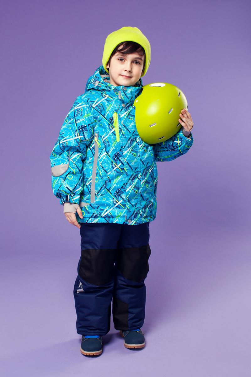 Комплект одежды для мальчика Оливер. 16/OA-1SU43016/OA-1SU430Долговечный и технологичный костюм из зимней коллекции OLDOS ACTIVE. Покрытие Teflon: защита от воды и грязи, износостойкость, за изделием легко ухаживать. Мембрана 5000/5000 обеспечивает водонепроницаемость, одежда дышит. Гипоаллергенный утеплитель HOLLOFAN PRO 200/150 г - тоньше обычного, эффективнее удерживает тепло и дарит свободу движения. Флисовый подклад на грудке, спинке, воротнике и в капюшоне. Температурный режим -30С...+5С. Костюм прекрасно защитит от ветра и снега благодаря воротнику-стойке, ветрозащитным планкам, снего-ветрозащитным муфтам и юбке; манжета регулируется по ширине. Дополнительно в рукавах есть эластичные манжеты с отверстием для большого пальца! Спинка удлиненная, низ куртки регулируется по ширине. Капюшон съемный с регулировкой объема. Карманы на молнии, есть внутренний кармашек на липучке. Полукомбинезон с застежкой на молнии, резинкой по талии, широкими эластичными регулируемыми подтяжками, карманами, усилениями в местах износа. Светоотражающие элементы.