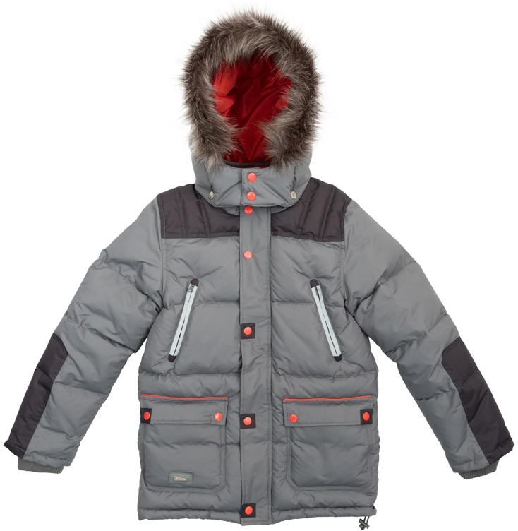 Куртка363120Удлиненная куртка для мальчика выполнена из непромокаемого материала с отстегивающимся капюшоном. Стильный цвет позволяет сочетать ее с любой одеждой. Куртка застегивается на молнию и имеет ветрозащитную планку на кнопках и трикотажные манжеты на рукавах. Спереди куртка дополнена двумя накладными карманами с клапанами на кнопках и двумя прорезными карманами на застежках-молниях. Низ и капюшон изделия утягиваются стопперами. Внутри есть специальная ветрозащитная юбочка, застегнув которую вы надежно защитите ребенка от снега, дождя и ветра.