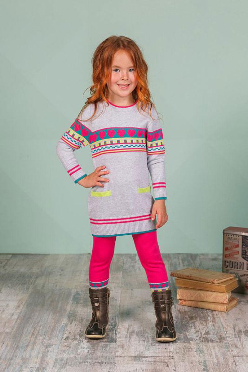 Брюки205247Брюки для девочки Sweet Berry из трикотажа идеально подойдут для отдыха и прогулок. Модель на талии имеет широкую эластичную резинку, что обеспечивает удобную посадку изделия на фигуре.