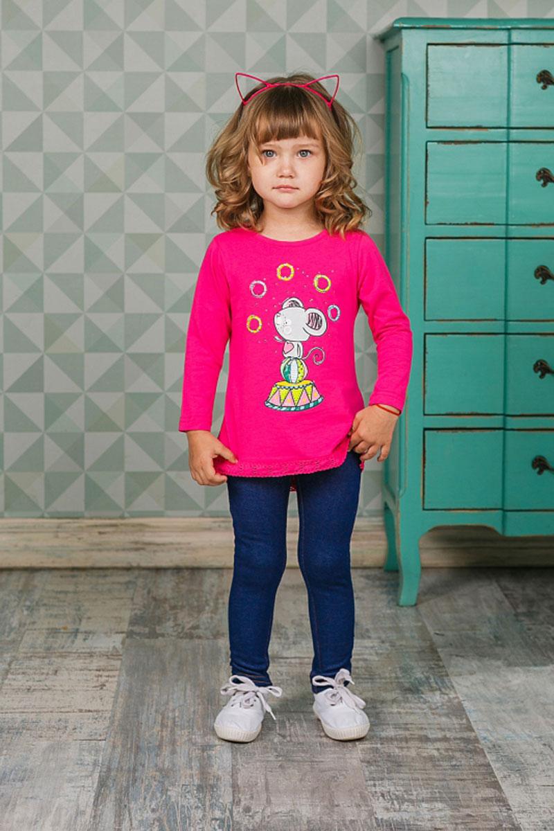Леггинсы205257Утепленные леггинсы для девочки Sweet Berry из трикотажа идеально подойдут для отдыха и прогулок. Модель на талии имеет широкую эластичную резинку, что обеспечивает удобную посадку изделия на фигуре. Сзади изделие дополнено двумя накладными карманами.