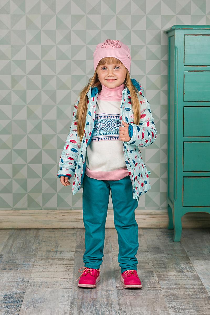Шапка детская205446Мягкая и уютная шапка Sweet Berry для девочки выполнена из вязаного трикотажа и украшена стразами. Низ изделия выполнен на резинке для удобной посадки. Уважаемые клиенты! Обращаем ваше внимание на тот факт, что размер, доступный для заказа, является обхватом головы.