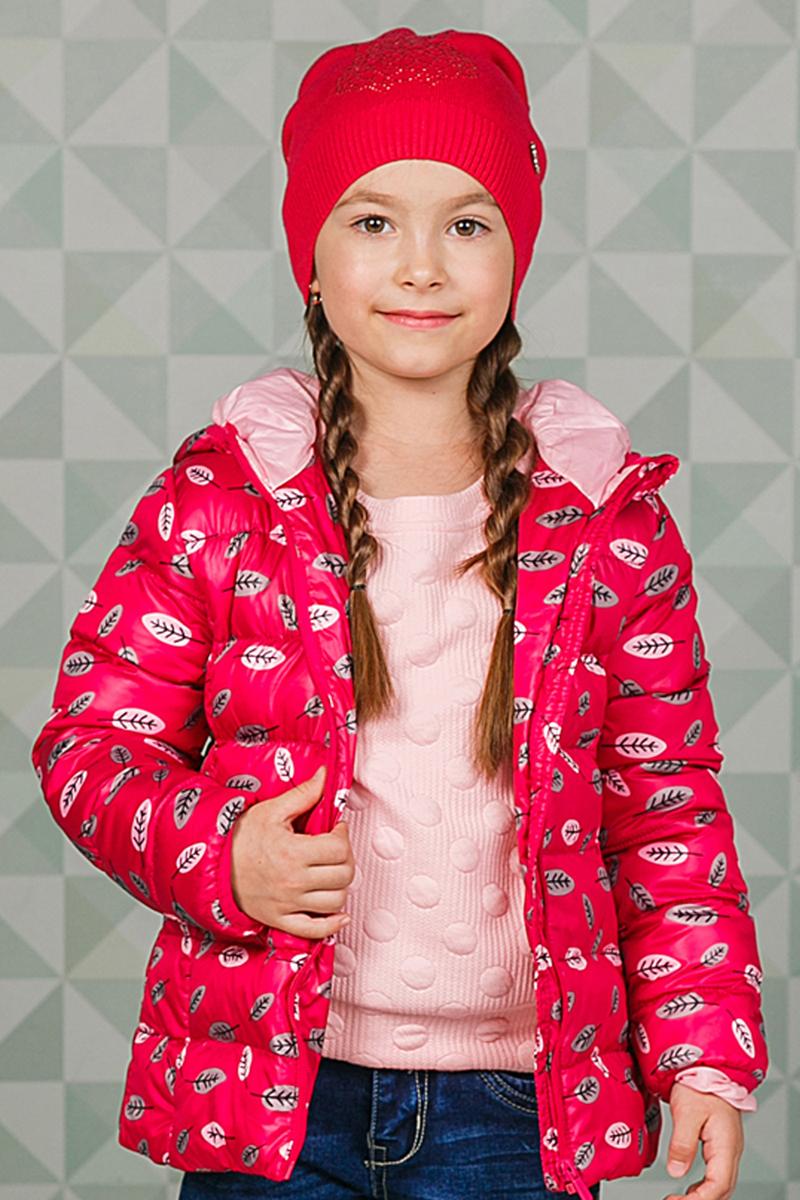 205446Мягкая и уютная шапка Sweet Berry для девочки выполнена из вязаного трикотажа и украшена стразами. Низ изделия выполнен на резинке для удобной посадки. Уважаемые клиенты! Обращаем ваше внимание на тот факт, что размер, доступный для заказа, является обхватом головы.