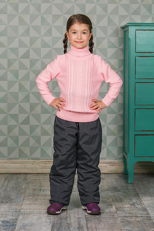 Свитер205483Теплый вязаный свитер Sweet Berry для девочки идеально подойдет вашему ребенку в прохладные дни. Уютный свитер с длинными рукавами имеет высокий воротник-гольф с отворотом. Низ рукавов, воротник и низ изделия дополнены вязаной крупной резинкой. Оформлен оригинальной вязкой.