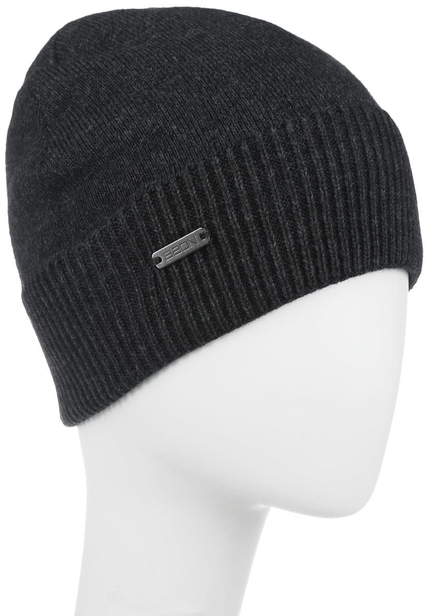 Шапка мужская. B846524B846524Классическая мужская шапка Baon отлично дополнит ваш образ в холодную погоду. Сочетание акрила и шерсти максимально сохраняет тепло и обеспечивает удобную посадку, невероятную легкость и мягкость. Модель выполнена в одной цветовой гамме и понизу оформлена широкой вязанной резинкой. Дополнена шапка металлической пластиной с названием бренда. Стильная шапка Baon подчеркнет ваш неповторимый стиль и индивидуальность. Такая модель составит идеальный комплект с модной верхней одеждой, в ней вам будет уютно и тепло.