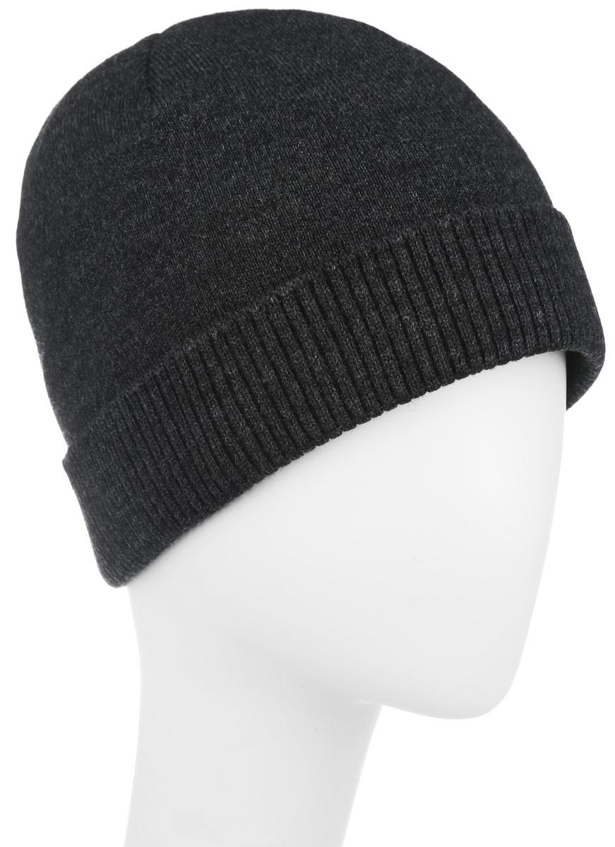 Шапка5-084Стильная мужская шапка Leighton отлично дополнит ваш образ в холодную погоду и гарантирует вам тепло и потрясающий комфорт. Сочетание шерсти и акрила максимально сохраняет тепло и обеспечивает удобную посадку. Шапка с флисовой подкладкой по краю дополнена отворотом, связанным резинкой. Такая шапка комфортна и приятна на ощупь, она великолепно подчеркнет ваш стиль.