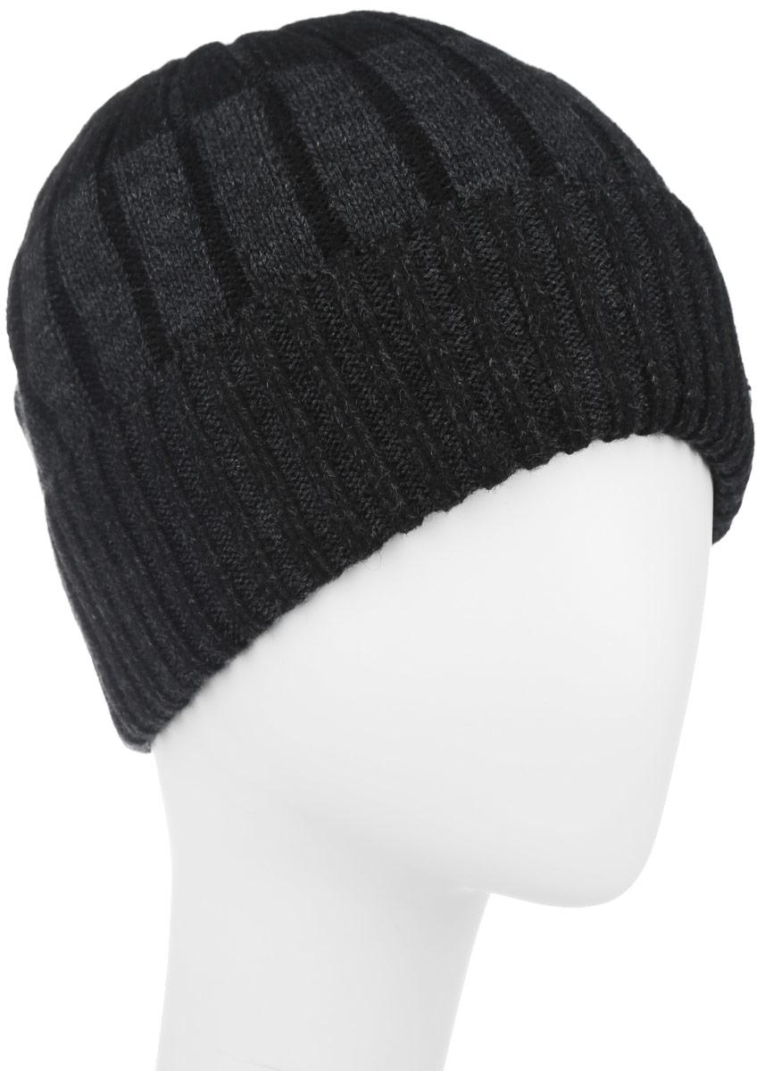 Шапка мужская. B846513B846513Классическая мужская шапка Baon отлично дополнит ваш образ в холодную погоду. Сочетание шерсти и акрила максимально сохраняет тепло и обеспечивает удобную посадку, невероятную легкость и мягкость. Внутренняя сторона шапки утеплена мягким флисом. Оформлено изделие небольшой металлической пластиной с названием бренда. Стильная шапка Baon подчеркнет ваш неповторимый стиль и индивидуальность. Такая модель составит идеальный комплект с модной верхней одеждой, в ней вам будет уютно и тепло.
